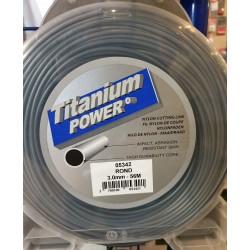 Fil titanium rond 3mm