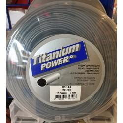 Fil titanium rond 2.5mm